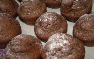 шоколадные кексы по Дюкану