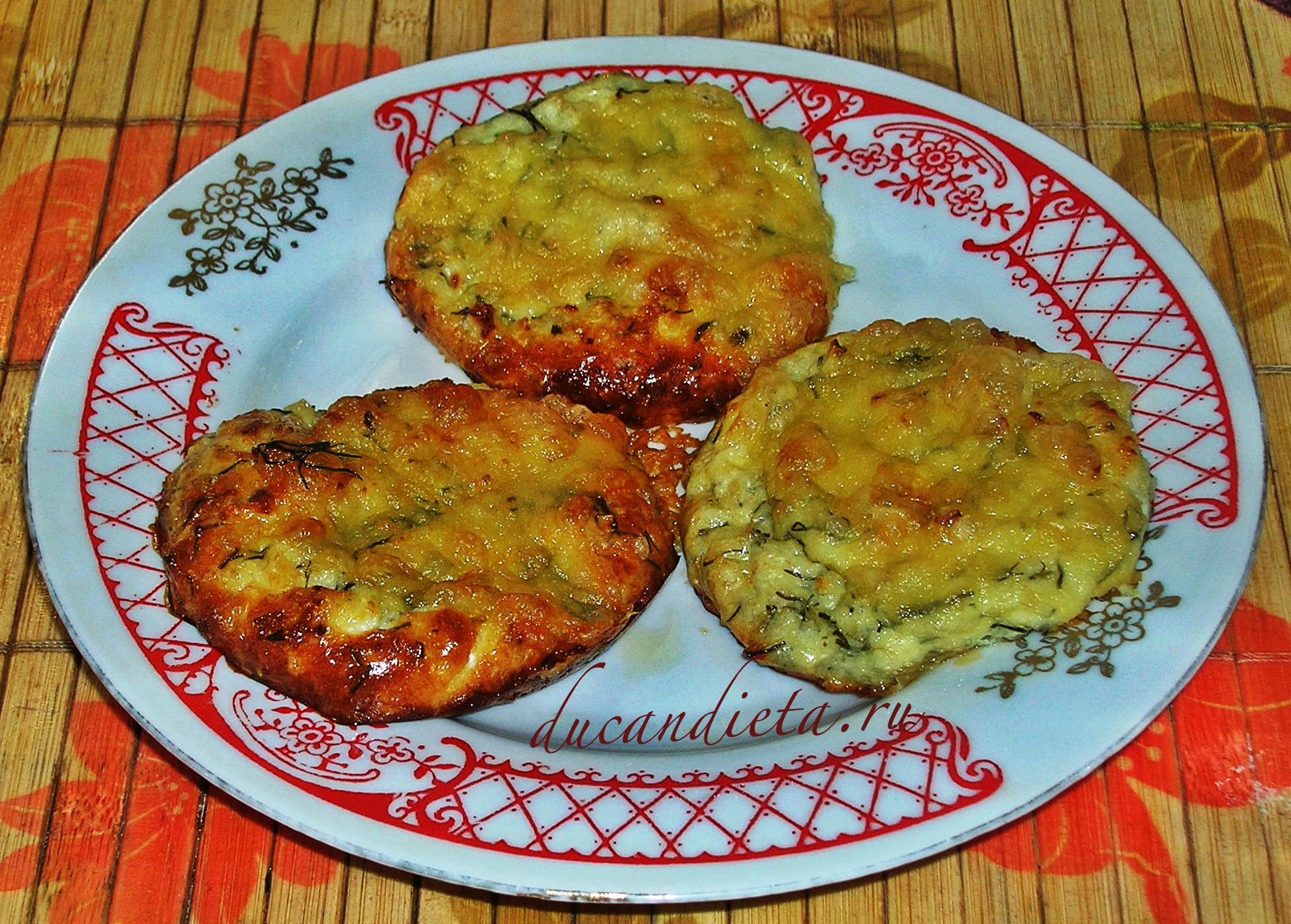 рецепт сырники по Дюкану с зеленью