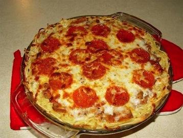 диетическая пицца без теста рецепт