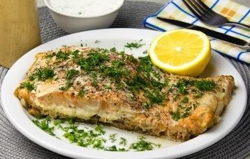 запеченая рыба по Дюкану