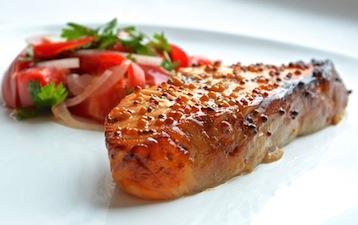 лосось по Дюкану рецепт