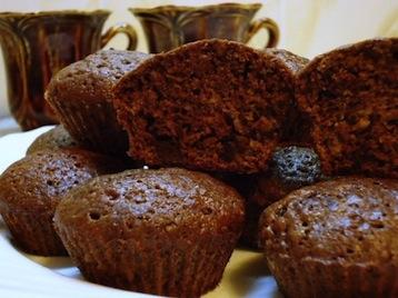 Шоколадные маффины с ванильным вкусом