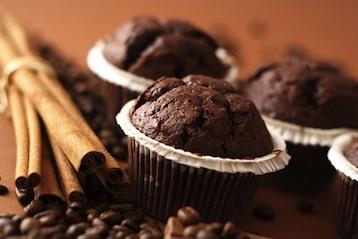 шоколадные маффины с эспрессо