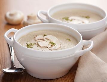грибной суп из шампиньонов по Дюкану