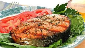 красная рыба по Дюкану