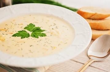 сырный суп с ветчиной по Дюкану