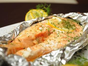 лосось запеченный по Дюкану