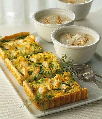 овощной пирог с цветной капустой