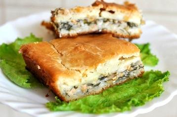 пирог с рыбными консервами по Дюкану