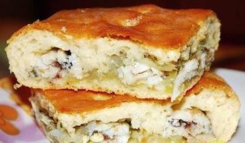 рыбный пирог по Дюкану