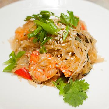 «Фунчоза» с морепродуктами