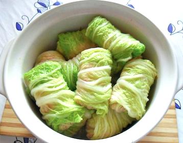 Голубцы с пекинской капустой