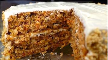 Морковный торт по Дюкану старбакс