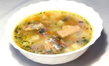 Суп из консервов по Дюкану