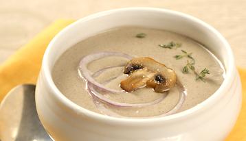 Суп из шампиньонов по Дюкану