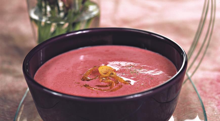 Суп пюре из свеклы по Дюкану