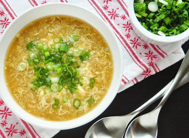 Яичный-суп-по-Дюкану