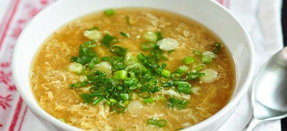 Яичный-суп