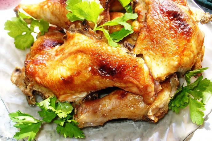 Курица по восточному рецепт