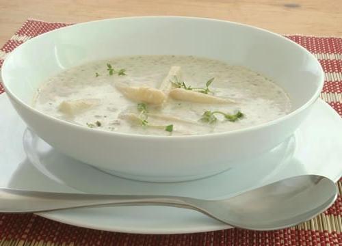 рецепт суп пюре из курицы по Дюкану