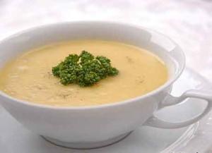рецепт суп пюре из курицы