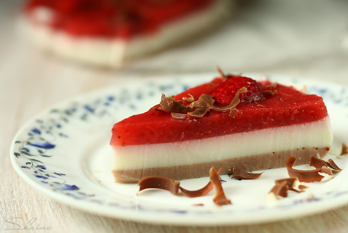 торт из йогурта